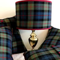 Tartan Lampshade and Cushions